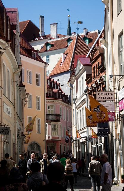 Tallin, Estonia. © bill barber; vía Flickr.