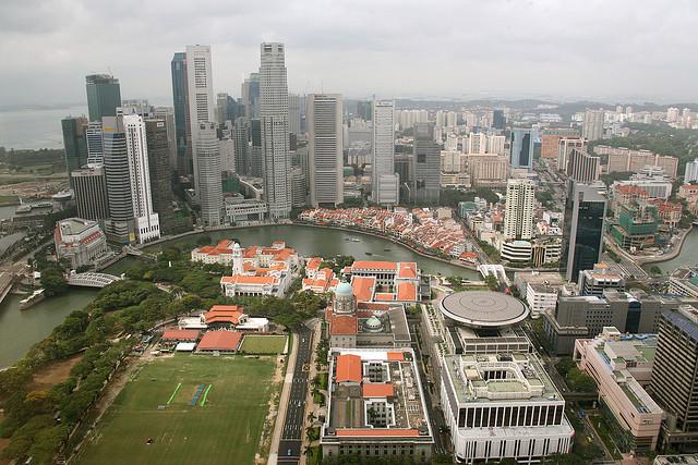 Ciudad de Singapur. © Small; vía Flickr.
