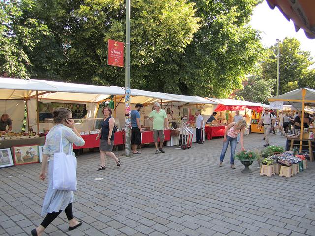 Mercado Hackescher, Berlín, Alemania. © La Citta Vita; vía Flickr