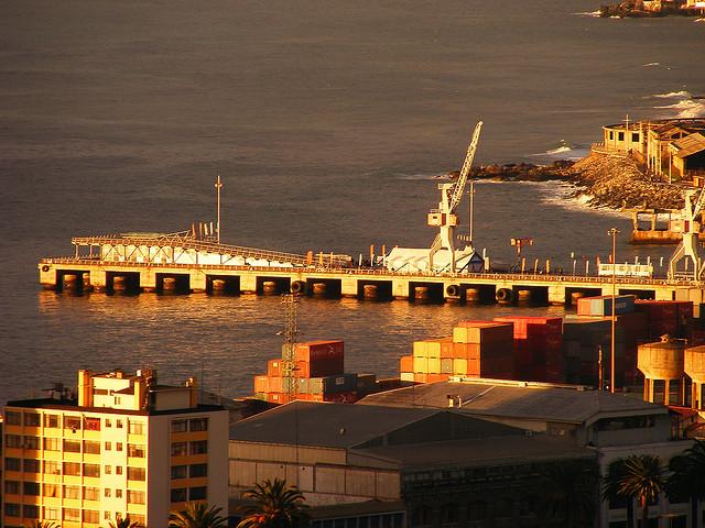 Muelle Barón, Valparaíso. © heedmane; vía Flickr