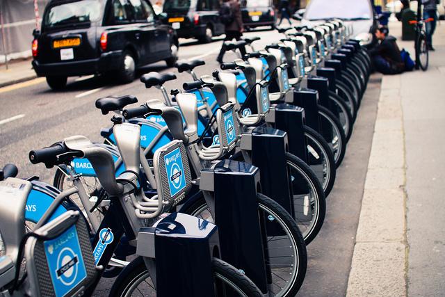 Sistema de bicicletas públicas de Londres. © Jer Digital; vía Flickr.