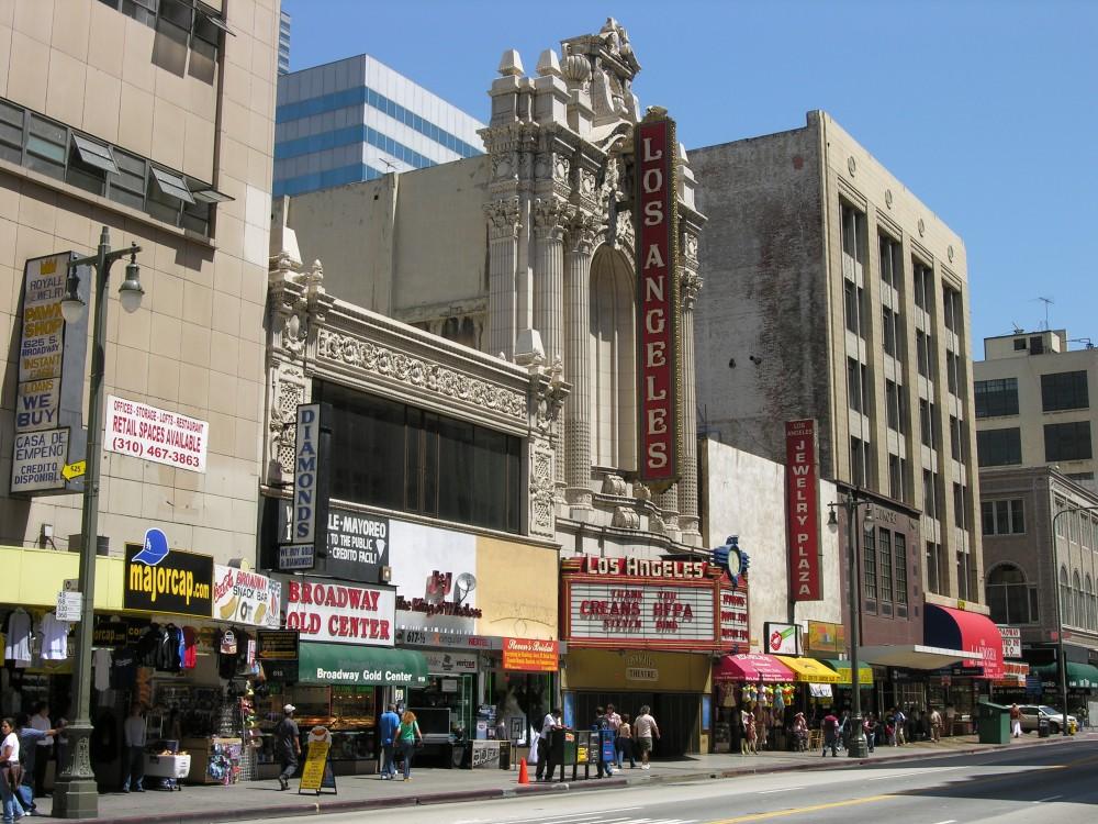 Teatro de Los Ángeles, EE.UU. Vía Wikimedia Commons
