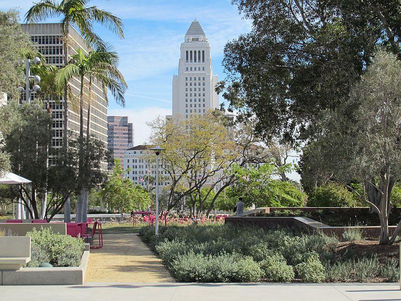 Grand Park, Los Ángeles. Vía Wikimedia Commons.
