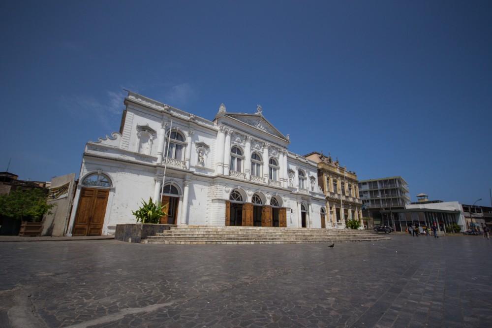 Teatro Municipal y Sociedad Protectora de Trabajadores de Tarapacá