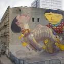 Artistas: Os Gemeos (Brasil) / ARYZ (España). Fuente: galeriaurbanforms.org