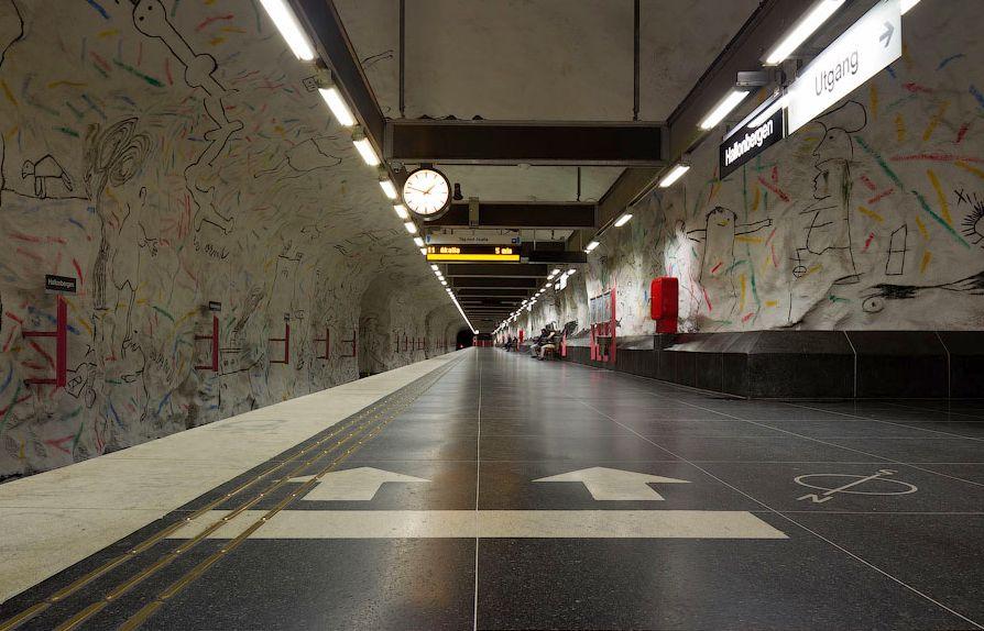 Estación Hallonbergen