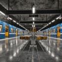 Metro de Estocolmo. ©