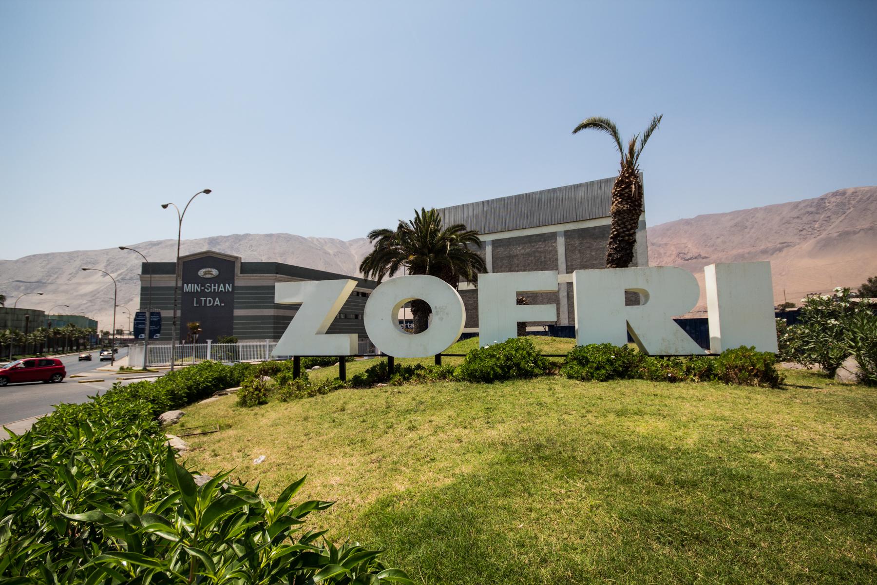 Guía Urbana de Chile: Mall ZOFRI, Iquique, Plataforma Urbana