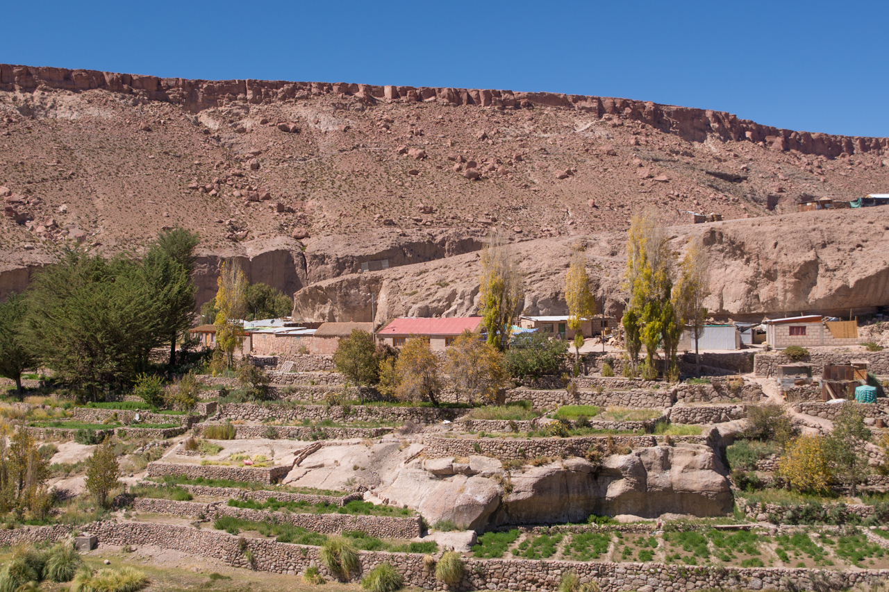 Gu a urbana de chile pueblos de alto el loa plataforma for Arquitectura quechua