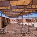 Pueblo de los artesanos, terraza