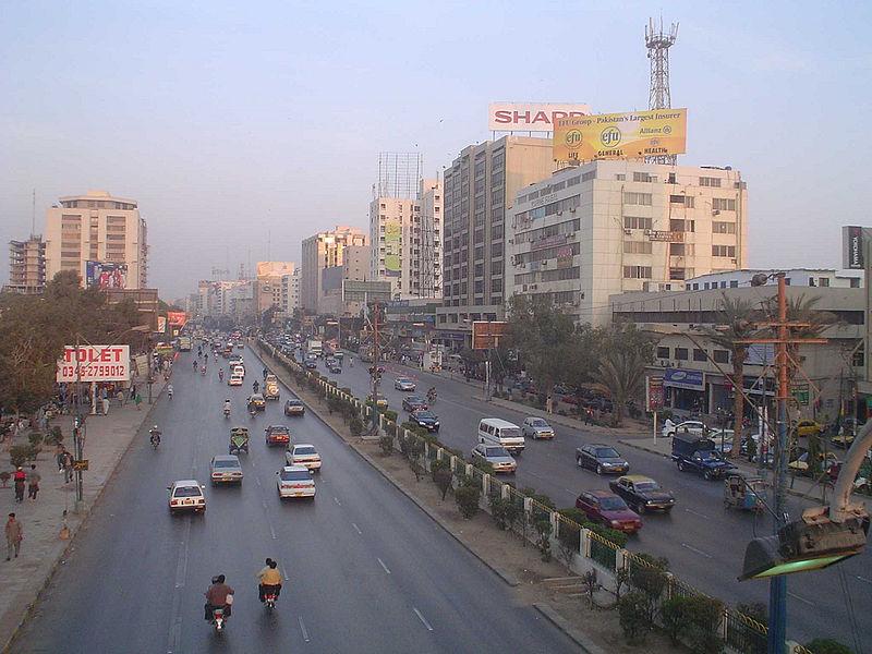 Karachi, Pakistán. © Greg, vía Wikimedia Commons.
