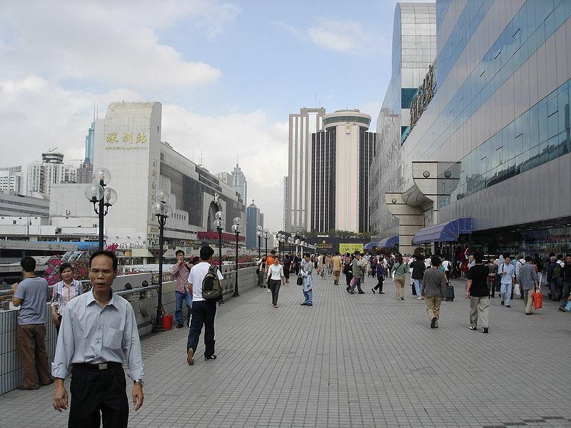 Shenzhen, China. © Denis Barthel, vía Wikimedia Commons.