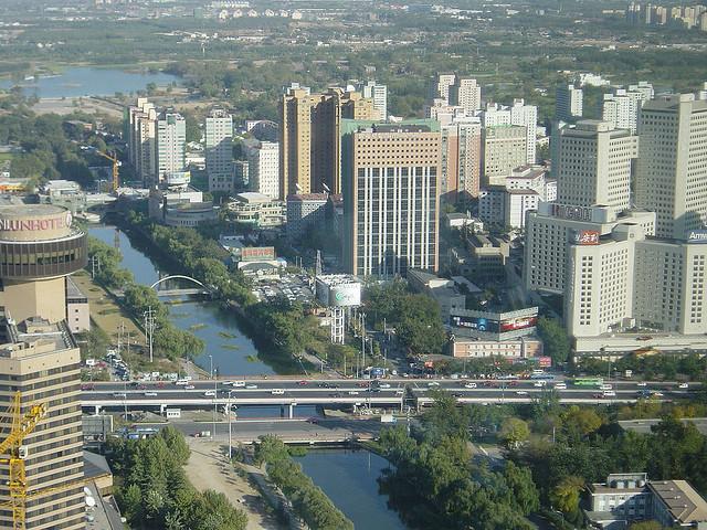 Beijing, China. © Marc van der Chijs, vía Flickr.