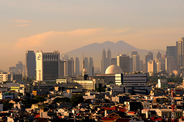 Yakarta, Indonesia. © druidabruxux, vía Flickr.