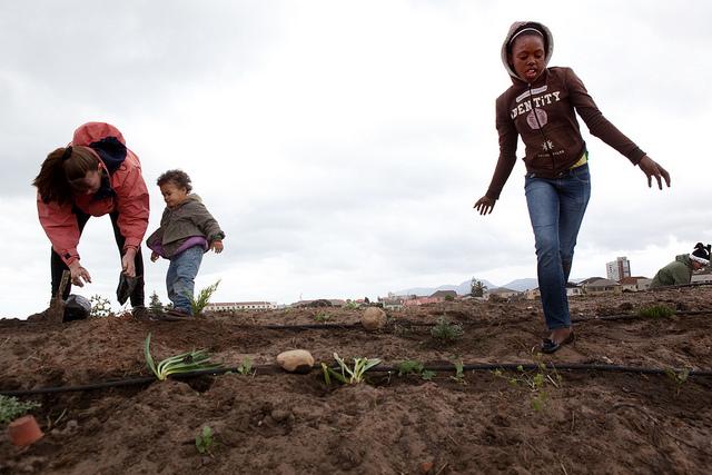 GreenPop en Ciudad del Cabo, Sudáfrica. © 350.org, vía Flickr.