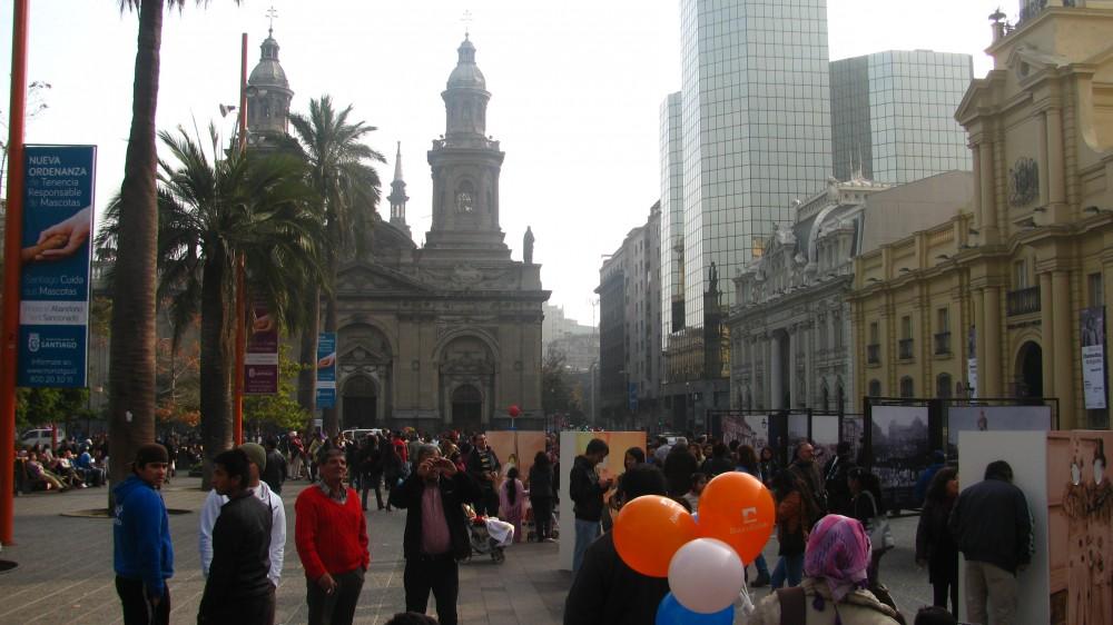 Plaza de Armas de Santiago. © Constanza Martínez Gaete