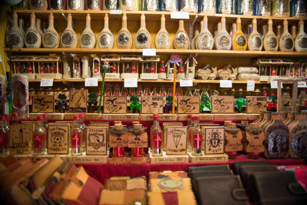 Productos típicos del Valle del Elqui.