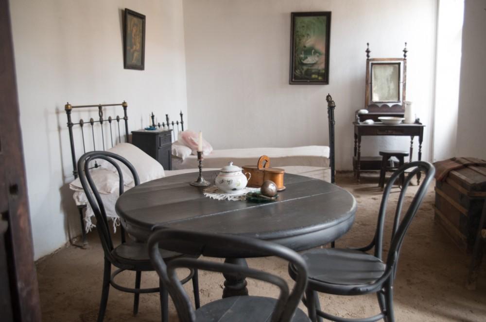 Habitación donde Gabriela Mistral nació y vivió su primera infancia.