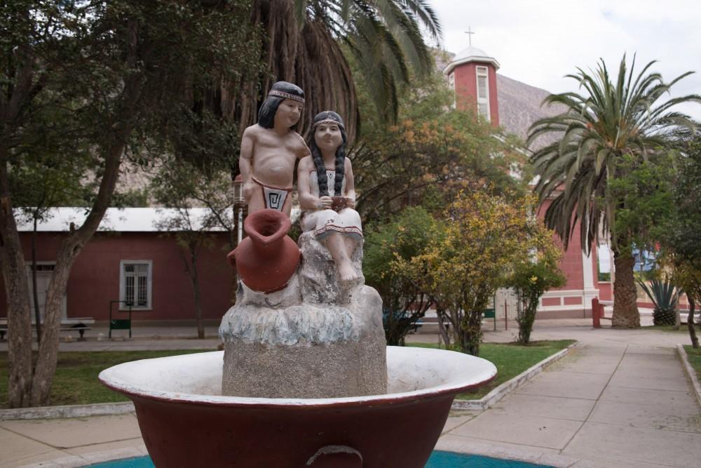 Plaza del Pueblo Diaguitas.