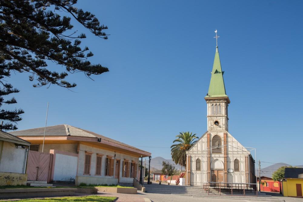 Plaza Urmeneta Guayacán, Laboratorio e Iglesia