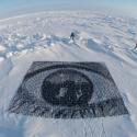 """Inside Out Project"""" en el Polo Norte. Fuente imagen: insideoutproject.net"""