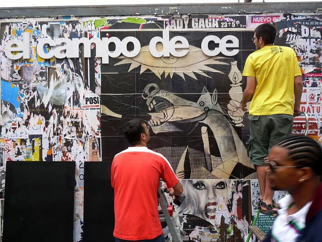 © Campo de Cebada, vía Flickr.