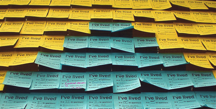 Fuente: candychang.com/post-it-notes-for-neighbors-2/