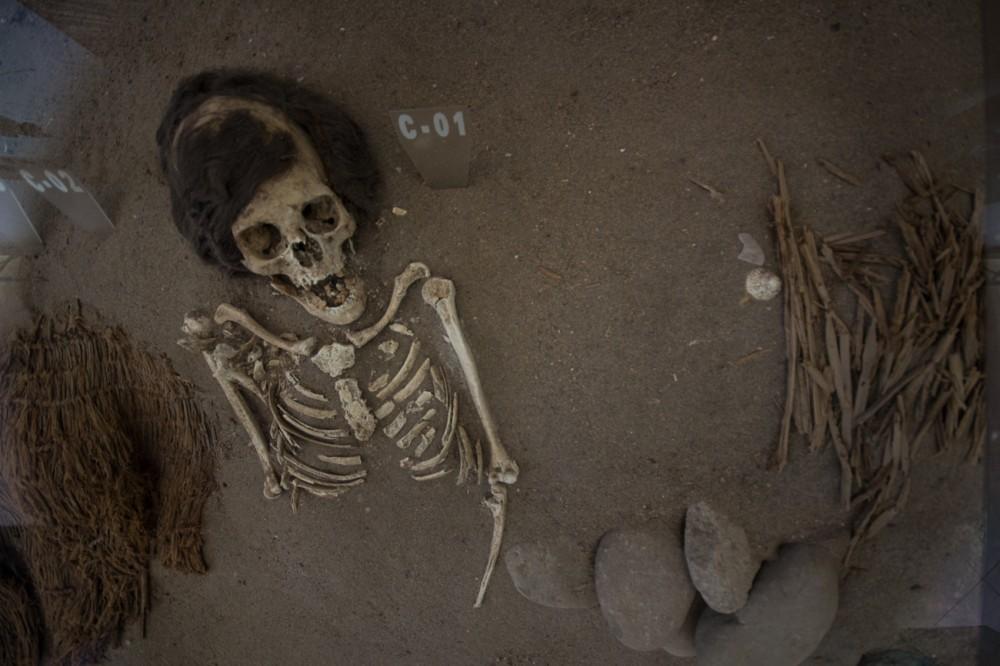 Momia Chinchorro en Museo Colón 10.