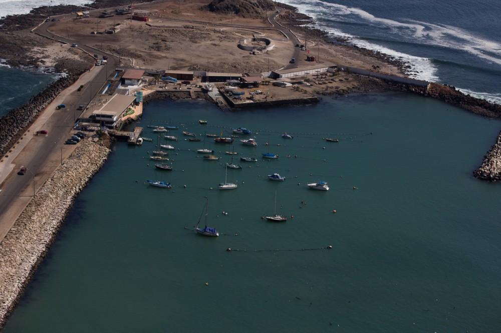 Vista desde el Morro a la Ex-isla El Alacrán