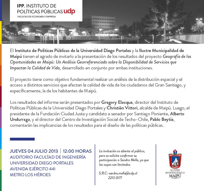 INVITACION MAPAS DE OPORTUNIDAD