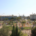 Plaza Sandro Escalona en San Bernardo. Cortesía de Fundación Mi Parque.