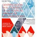 Seminario: Gentrificación en el contexto de las políticas urbanas de reconstrucción
