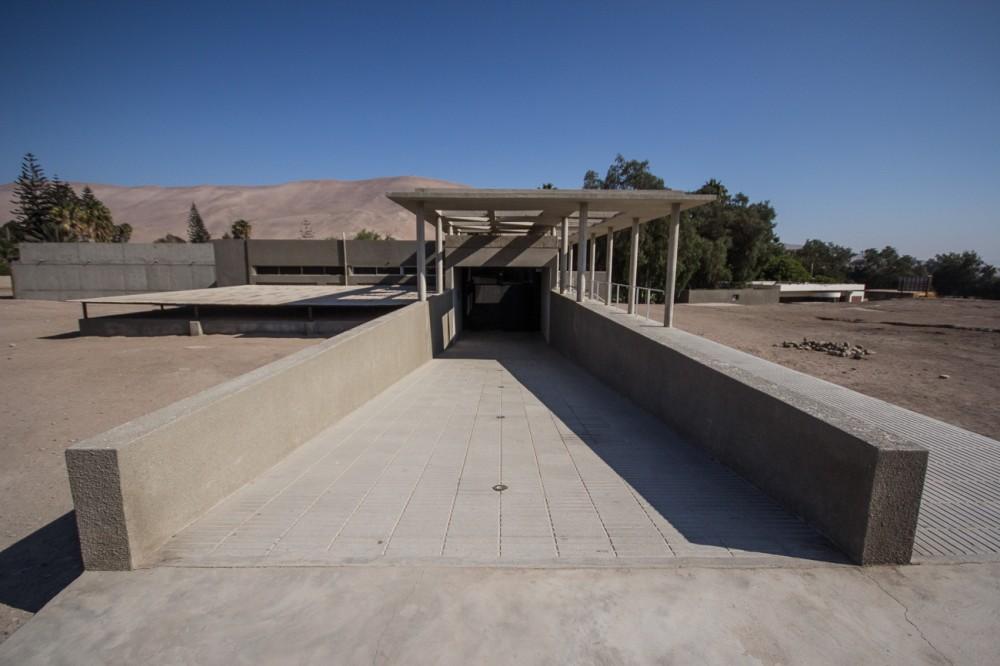Exterior a Sala Chinchorro