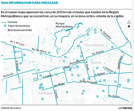Mapa Bicicultura