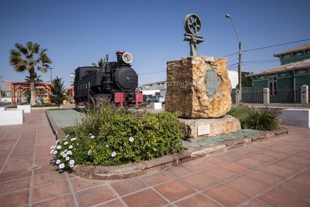 Monumento al Trabajador Ferroviario