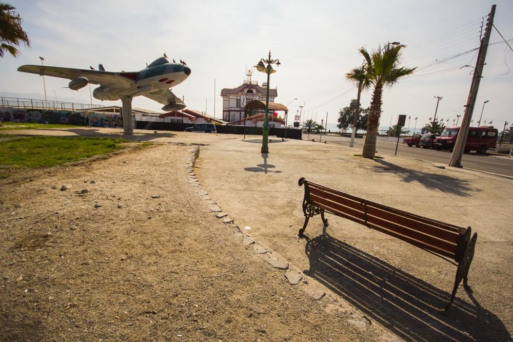 Plaza avión