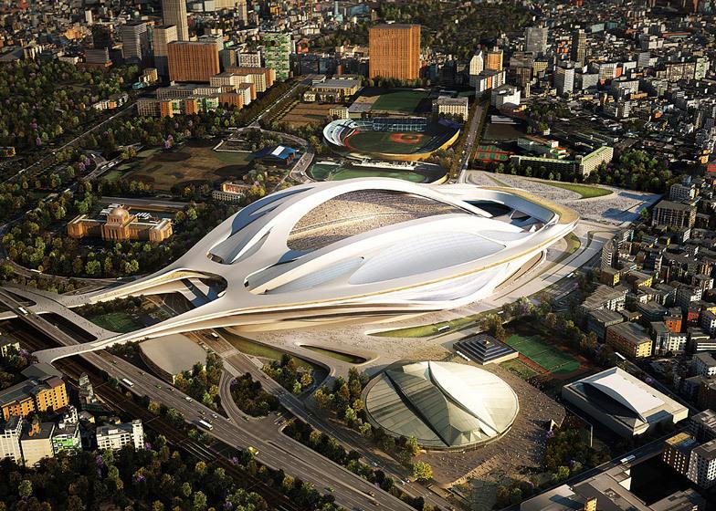 Estadio Tokio Zaha Hadid