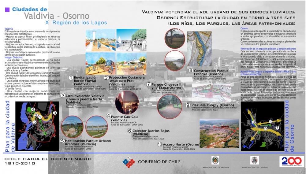 Plan y Expo Bicentenario Valdivia, Agosto 2003.