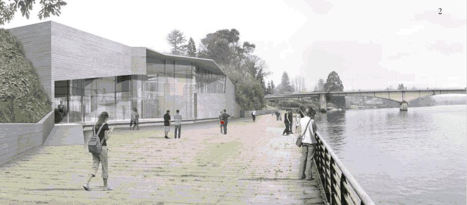 Proyecto de Ampliación y Consolidación del MAC Valdivia, Arquitectos Undurraga & Deves.