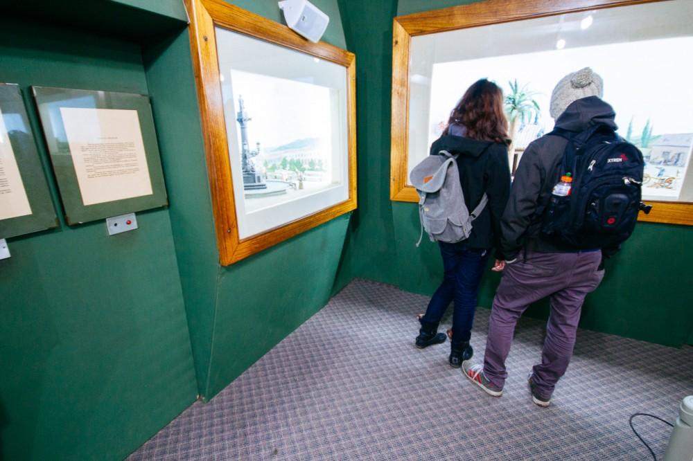Galería de la Historia de Concepción. Armando Torrealba para Plataforma Urbana