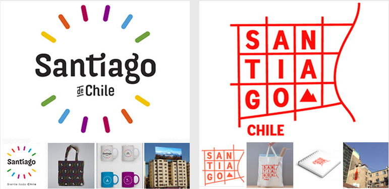 Aplicaciones Logo de Santiago