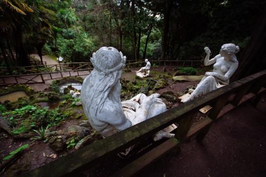Gu a urbana de chile parque isidora cousi o y mina for Jardines del diablo