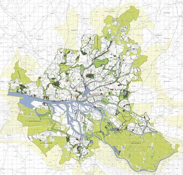 hamburgo green map