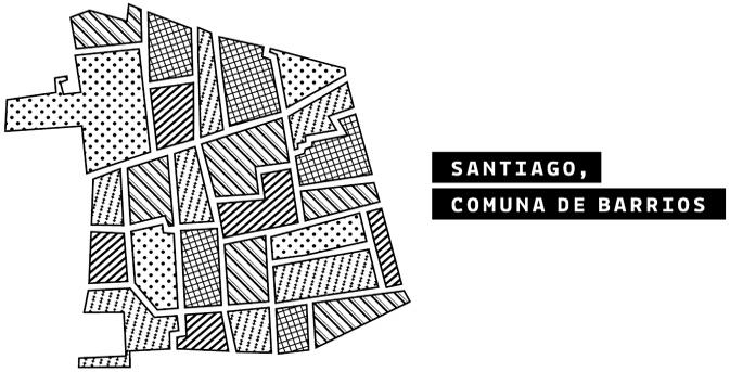 Santiago, comuna de barrios