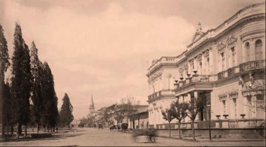 Una tragedia m s las llamas devoraron el palacio aldunate for Residencia torres de la alameda