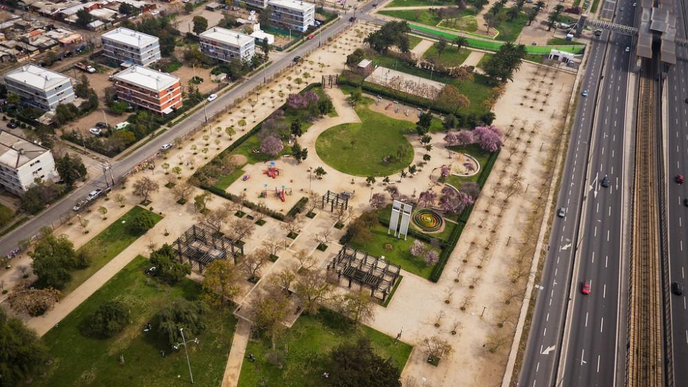 Parque La Bandera vía Gobierno de Chile en flickr