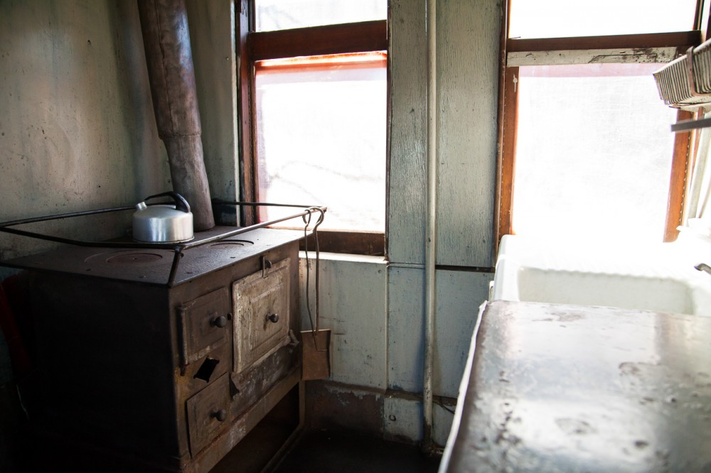 Cocina Coche Dormitorio