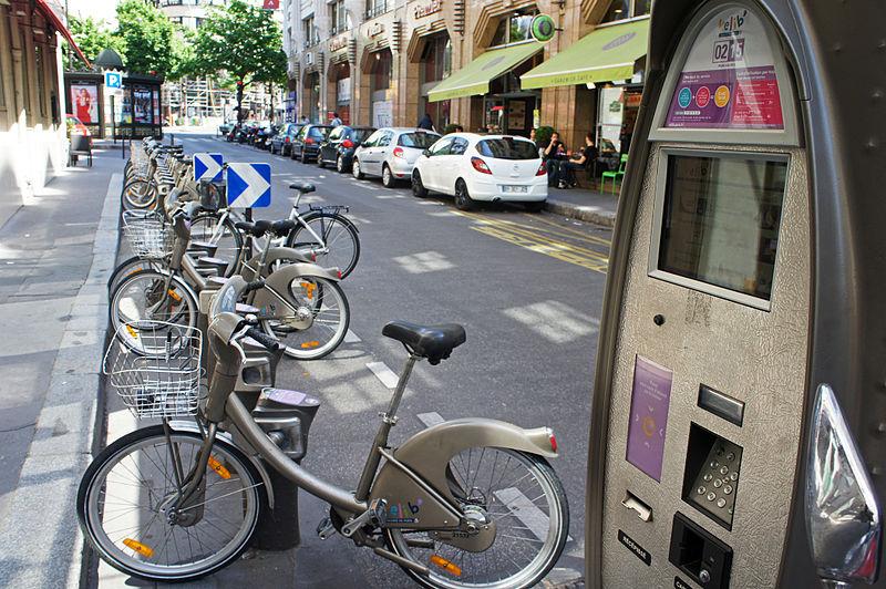 Vélib, París