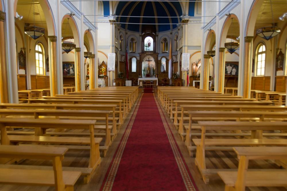 Interior Parroquia Sagrado Corazón de Jesús. © Armando Torrealba para Plataforma Urbana