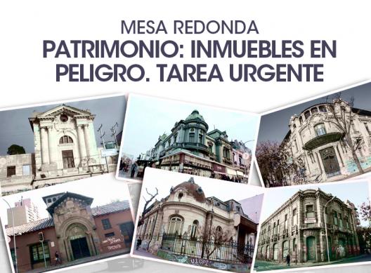 Mesa redonda patrimonio inmuebles en peligro tareas for Ciudad redonda calendario